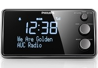 Der Philips Radiowecker punktet mit gut ablesbarem LCD-Display.