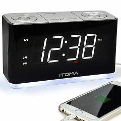 iTOMA-FM-Radio-Wecker-Test